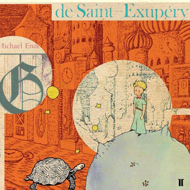 Collage Literatura Juvenil #Literatura