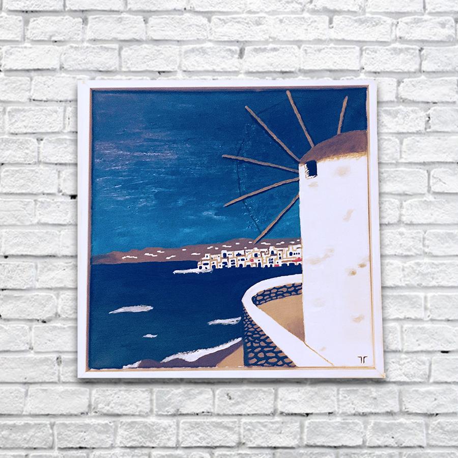 Mykonos #Pintura